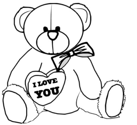 valentines teddy drawing master teddy step to step tutorial valentines day