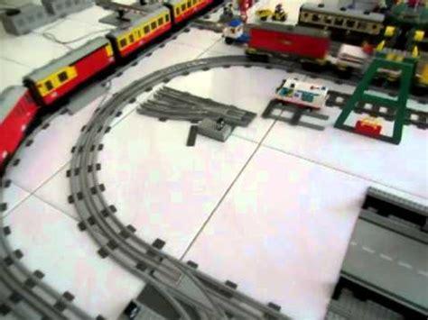youtube lego layout lego 12v train layout youtube