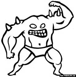 monsters coloring pages monsters coloring pages page 1