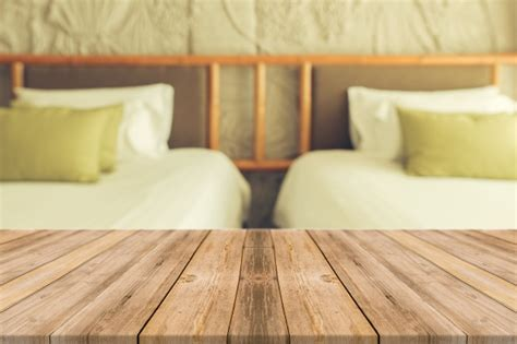 holzbretter mit zwei bett hintergrund der - Bett Hintergrund