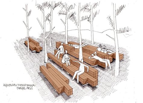 modulo banca parque arvi atoki mobiliario urbano