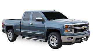 Running Boards For Chevrolet Silverado Luverne 481442 Stainless Steel Running Boards Chevy Gmc