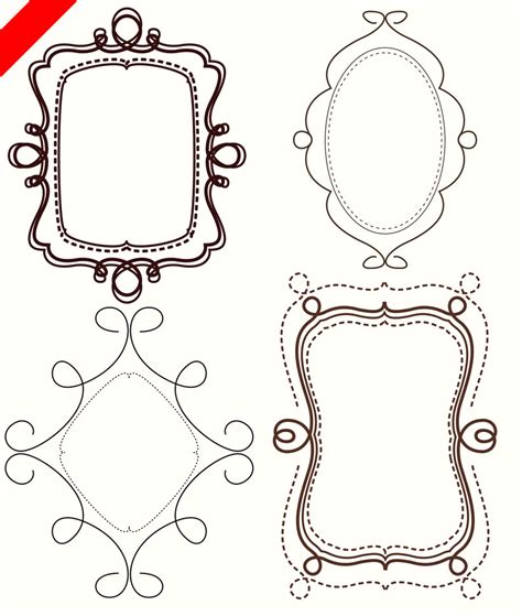 how to create doodle frames clip on doodle frames frames and lighthouses