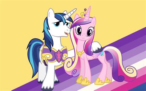 my little pony princess cadence shining armor princess cadance and shining armor wallpaper