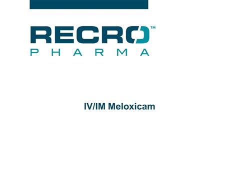 Meloxicam Detox by Slide 9