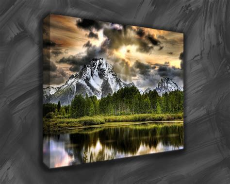 landscape canvas prints think highly of striking landscape canvas prints wall