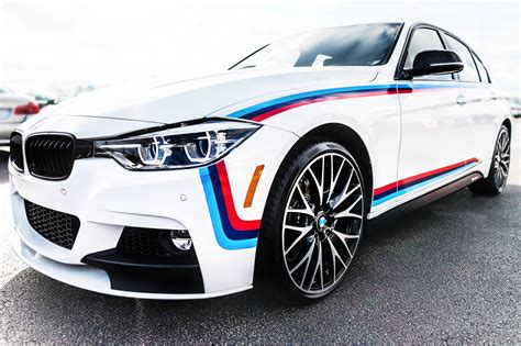 bmw m stripes bmw 340i gets an m sport package and m stripes
