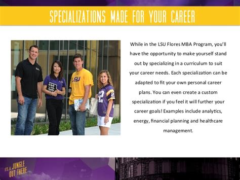 Lsu Flores Mba Career Services by Lsu Flores Mba Program Career Services