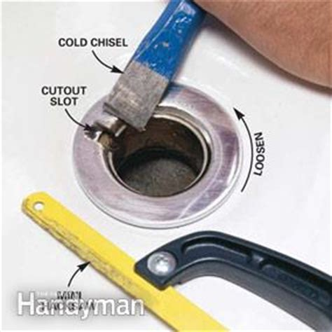 how to change out bathtub drain how to convert bathtub drain lever to a lift and turn drain family handyman