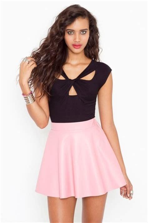 skirt pink skirt high waisted wheretoget
