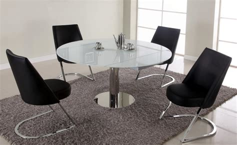 extendable dining sets extendable round sqaure glass top designer table set st