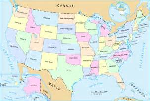 Map Of United States And Hawaii by Us 50 States Map