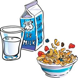 view breakfast 3 cereal milk jpg clipart free nutrition