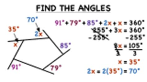 How To Work Out The Interior Angle by How Do You Find Measures Of Missing Exterior Angles