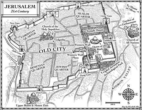 map of ancient jerusalem in jesus time new maps jerusalem in 4 bc and 21st century elisabeth alba