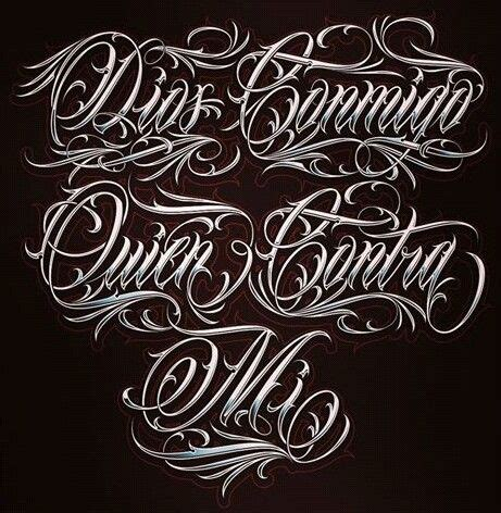 mexican tattoo lettering font 703 best tattoo lettering and fonts images on pinterest