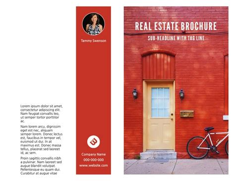 Real Estate Brochure Templates by Free Bi Fold Brochure Templates Exles Free Templates