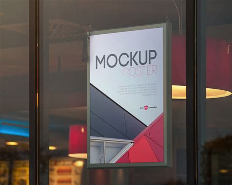 Free Up by Free Poster Mock Up Psd Free Mockup