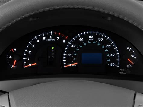 buy car manuals 2005 toyota corolla instrument cluster image 2009 toyota camry 4 door sedan v6 auto xle natl instrument cluster size 1024 x 768