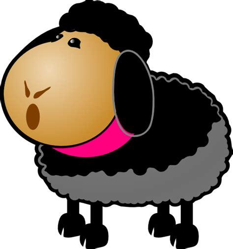 sheep talking clip art  clkercom vector clip art