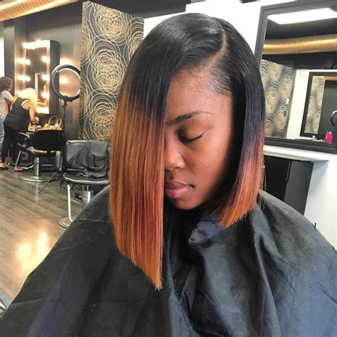 how to wrap a middle part bob weave 60 exquisite long and short bob hairstyles for black women