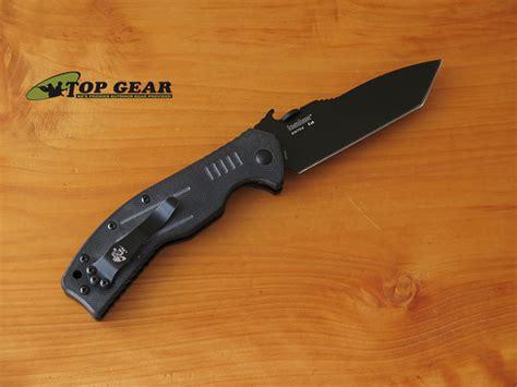 emerson knife company kershaw emerson cqc 8k tanto knife 6044tblk