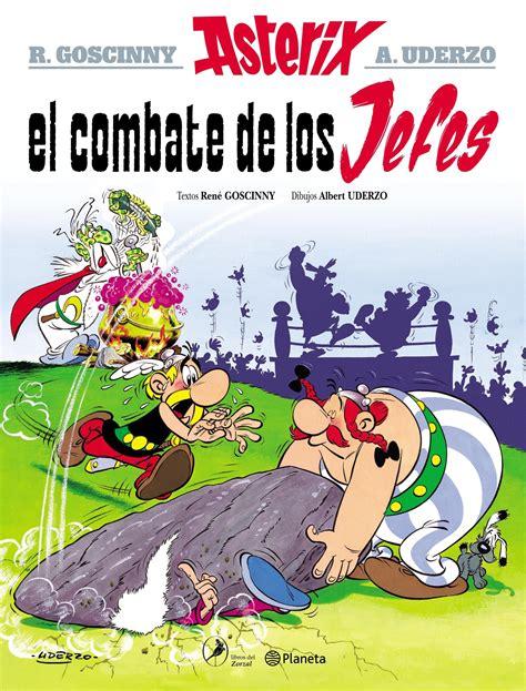 asterix 7 el combate de los jefes planeta de libros