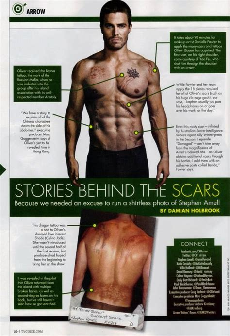 dc how did oliver queen get his scars science fiction