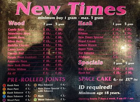 New Time coffeeshop new times