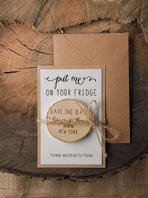 diy save the date magnets template save the date magnets 20 rustic wood save the date
