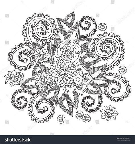doodle craft paper flowers royalty free beautiful doodle flowers zentangle