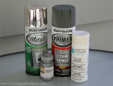 spray paint materials needed update a brass l in 5 simple steps 187 thrifty