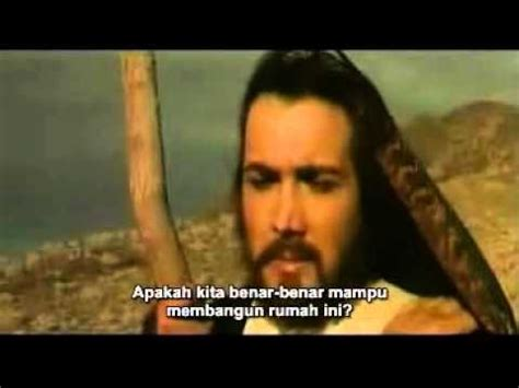 film nabi sulaiman subtitle indonesia film nabi ibrahim 11 subtitle indonesia end youtube