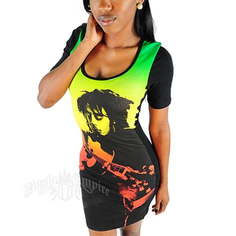 Dress Bobo bob marley guitar dress rastaempire