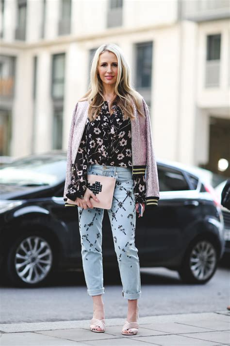 Blue Autumn Style Casual Top 20186 fashion week 2017 fashion week 2017 fashion week streetstyle embellished