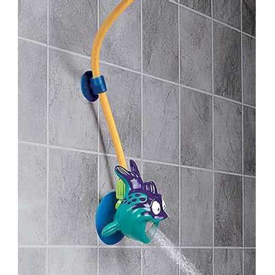 Kids Shower Head Bath Toy found on inventiveparent com