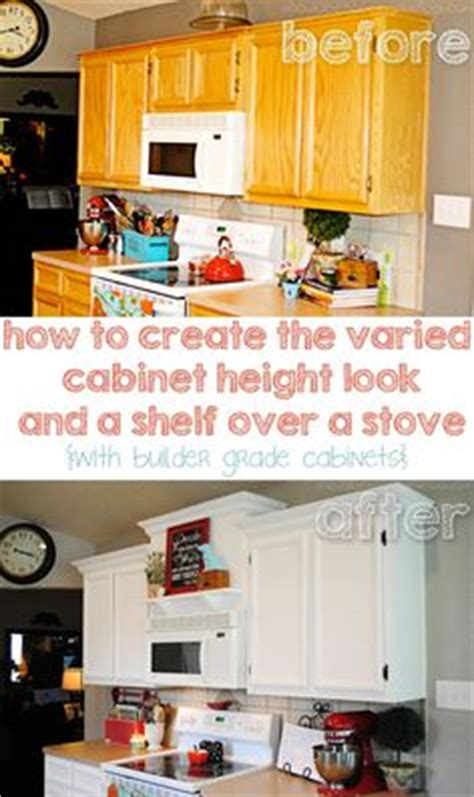 how to add a shelf to a cabinet how to add shelves above kitchen cabinets moldings
