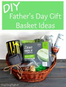 Fathers Day Gift Basket Diy Gift Basket Ideas The Idea Room