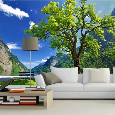 wallpaper for bedroom wall tree wall murals for homes beibehang custom 3d photo wall paper scenic tree dining