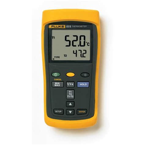 Thermometer Fluke fluke 52 ii digital thermometer