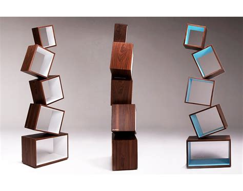 Special Edition Rak Persegi Gantung equilibrium bookcase s radical design eliminates book ends