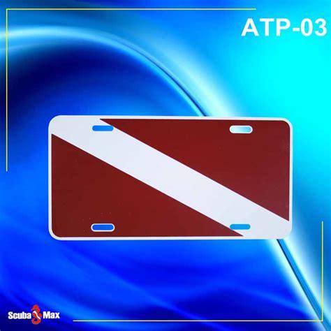 regulator boats license plate scuba max whly 02 dive flag license plate temento s dive