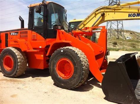 daewoo doosan mega 250 v wheel loader from spain for sale