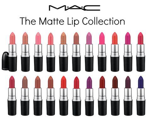 mac matte slade mac the matte lip collection