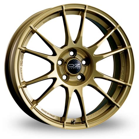 Wheels Gold 4 Pcs oz racing ultraleggera gold 18 quot alloy wheels wheelbase