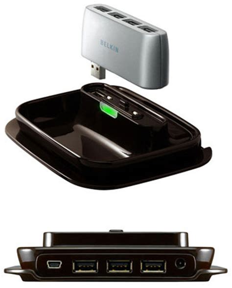 Portable Flash Player Transforms Usb In To Systems by Belkin 2 In 1 Usb 2 0 7 Port Hub Electronics