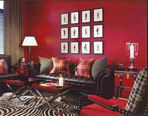 interior design red walls why should we choose red for walls