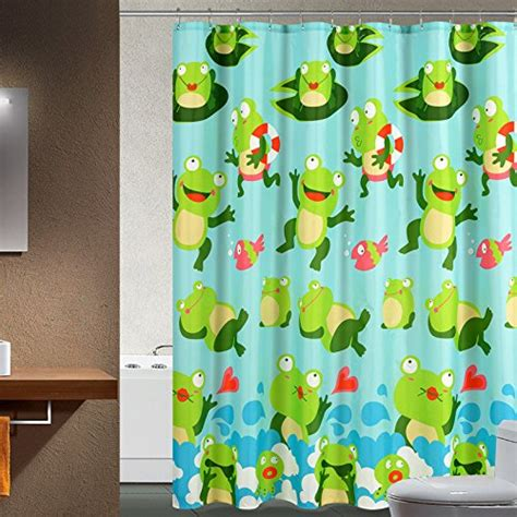 Frog Shower Curtains Cutest Frog Bathroom Decor
