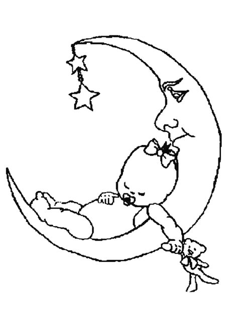 Free Coloring Pages Of Births Birth Of Coloring Pages