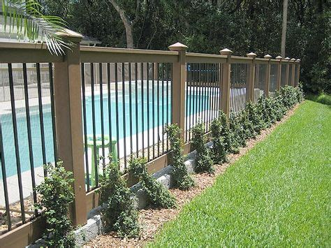 backyard fencing options 25 best ideas about pool fence on pool ideas
